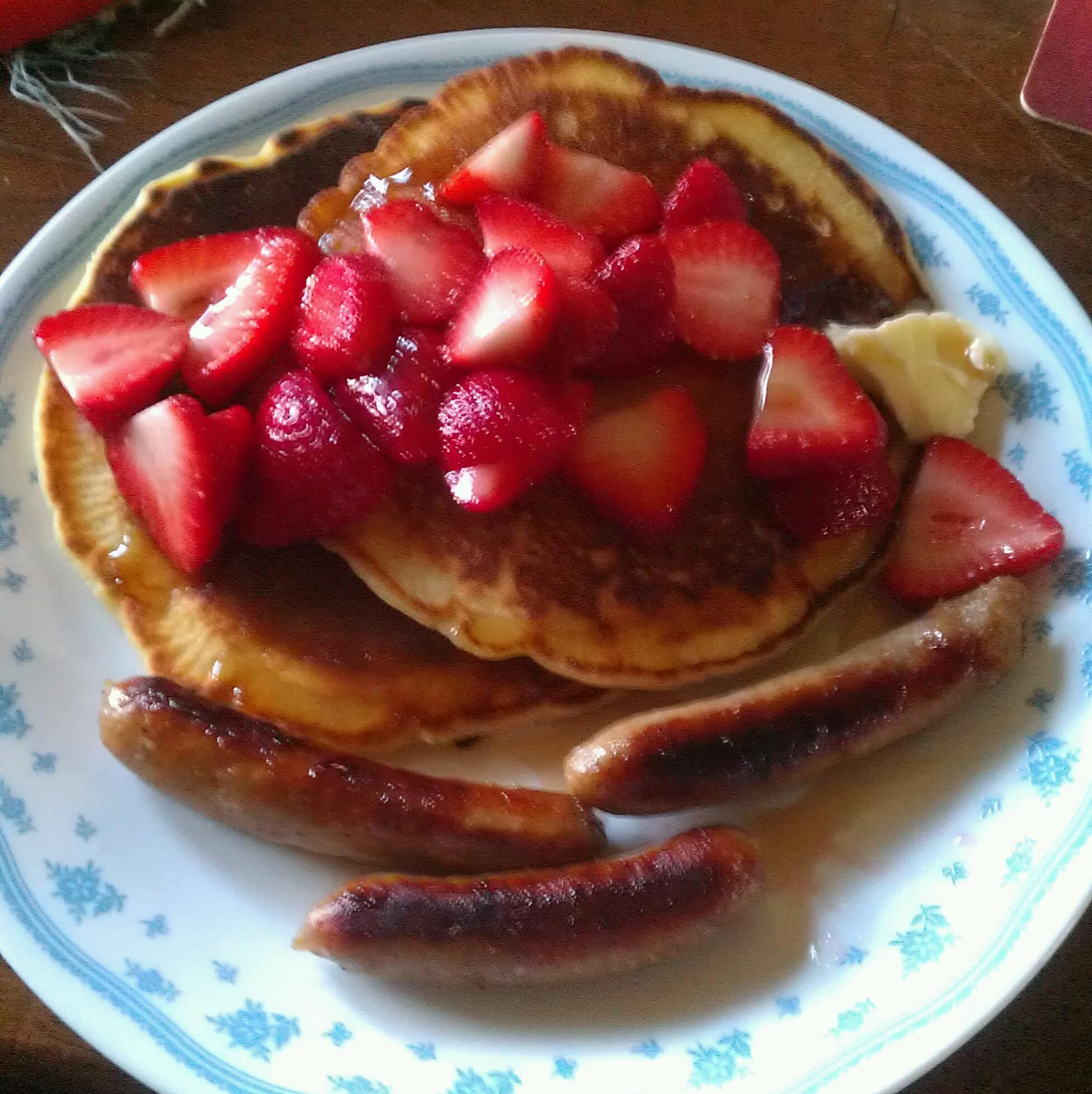 My favourite 'Scratch Pancake' recipe – made with simple ingredients!