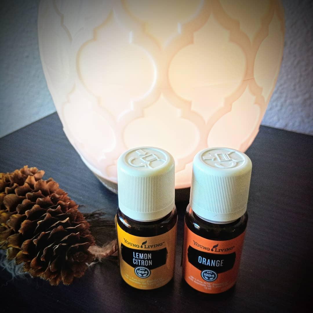 Lemon-Orange diffuser blend